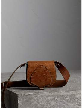 Burberry The Pocket Satchel in Alligator - TAN - STYLE