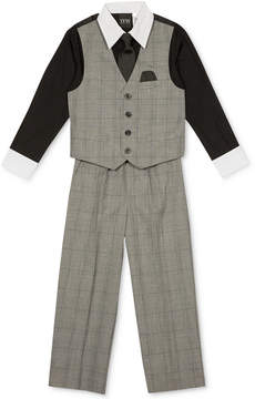 Nautica 4-Pc. Shirt, Vest, Pants & Tie Set, Little Boys (4-7)