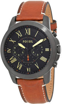 Fossil Grant Chronograph Black Dial Men's Watch