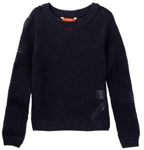 Joe Fresh Open Knit Sweater (Big Girls)