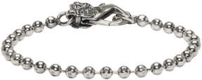 Emanuele Bicocchi Silver Disco Chain Bracelet