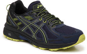 Asics GEL-Venture 6 Trail Running Shoe -Grey/Blue - Men's