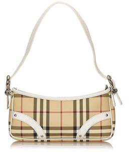 Burberry Pre-owned: Plaid Pvc Shoulder Bag. - BROWN X BEIGE X MULTI - STYLE