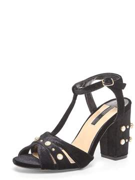 Dorothy Perkins Black 'Bonnie' Heeled Sandals
