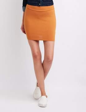 Charlotte Russe Foldover Mini Skirt