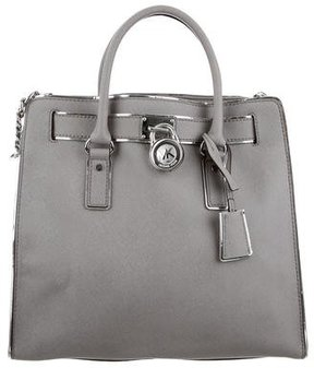 MICHAEL Michael Kors Large Hamilton Bag - BROWN - STYLE