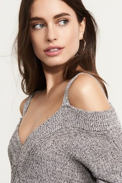 Dynamite Cold Shoulder Sweater