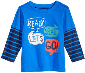 First Impressions Layered-Look Word-Print Cotton T-Shirt, Baby Boys (0-24 months), Created for Macy's