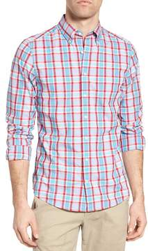 Gant Tech Prep Plaid Fitted Sport Shirt