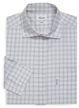 Façonnable Plaid Cotton Dress Shirt