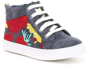 Kenneth Cole New York Girls Kam Hi-Top Sneakers