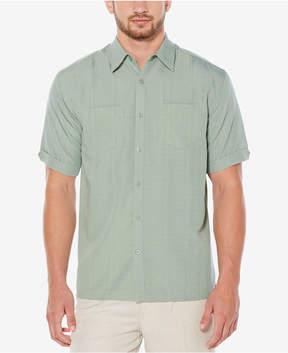 Cubavera Men's Pintucked Pocket Shirt