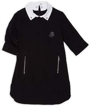 Karl Lagerfeld Little Girl's & Girl's Three-Quarter Sleeve Dress