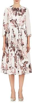 Brock Collection Women's Floral Cotton A-Line Dress