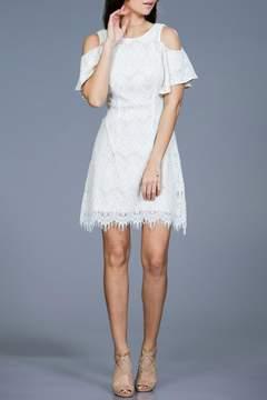 Ark & Co Lace Shoulder Dress