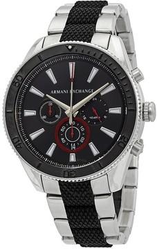 Armani Exchange Chronograph Black Dial Men's Watch