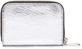 Michael Kors Small Zip Wallet in Silver Palladium - SILVER PALLADIUM - STYLE