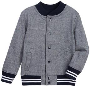 Joe Fresh Varsity Jacket (Toddler & Little Boys)