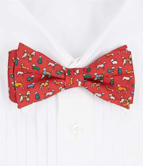 Daniel Cremieux Dogs Silk Bow Tie