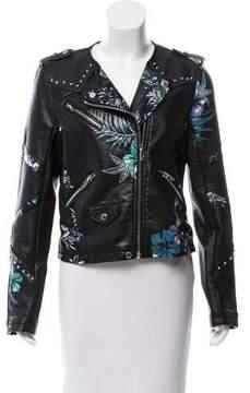 Blank NYC Embellished Moto Jacket