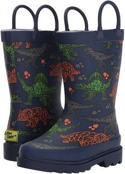 Western Chief Dino Facet Rain Boots Boys Shoes