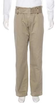 Dries Van Noten Belt-Accented Chino Pants