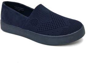 Bamboo Navy Knit Grand Slam Slip-On Sneaker