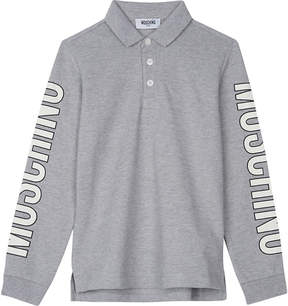 Moschino Long-sleeved polo top 4-14 years