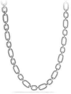 David Yurman Cushion Link Chain Necklace