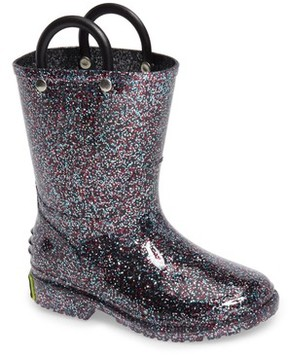 Western Chief Girl's Glitter Rain Boot