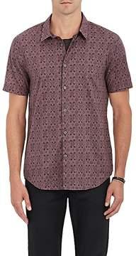 John Varvatos Men's Floral Cotton Shirt