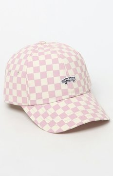 Vans Checkerboard Mauve Strapback Dad Hat