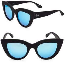 Quay Saddle 45MM Cats Eye Sunglasses