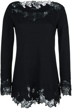 Ermanno Scervino lace trim top
