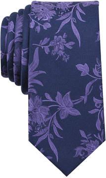 Bar III Men's Danforth Floral Skinny Tie, Created for Macy's
