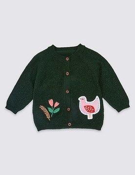 Marks and Spencer Applique Pocket Cardigan