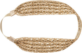 Scunci Headbands of Hope Bronze Textured Headwrap