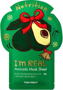 Tony Moly TONYMOLY I'm Real Holiday Avocado Face Mask