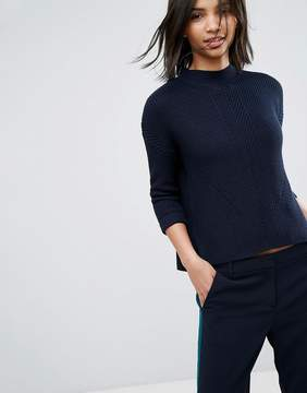 Esprit Oversized High Neck Sweater