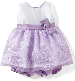 Jayne Copeland Baby Girls 12-24 Months Shantung-Bodice Sequin Soutache-Skirted Dress