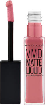 Maybelline Color Sensational Vivid Matte Liquid Lip Color - 10 Nude Flush