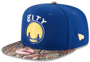 New Era Adult Golden State Warriors Tricked-Trim 9FIFTY Snapback Cap