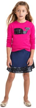 Vineyard Vines Girls Sequin Band Party Skirt