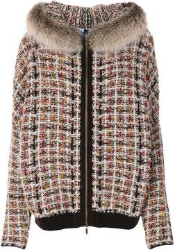 Blugirl trim tweed jacket