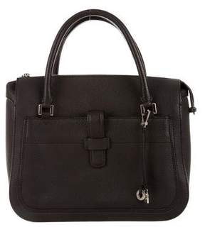 Loro Piana Bellevue Leather Satchel