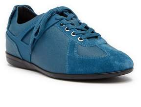 Versace Collection Suede Sneaker