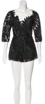 Alice McCall Rumours Embroidered Romper w/ Tags