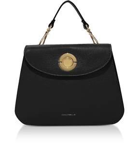 Coccinelle Jalouse Leather Flat Shoulder Bag