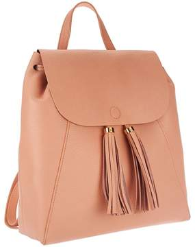 Isaac Mizrahi Live! Bridgehampton Leather Backpack