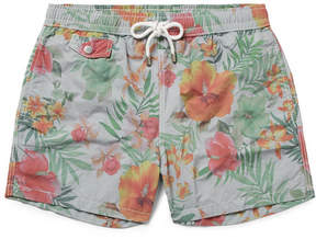 Hartford Mid-Length Floral-Print Swim Shorts